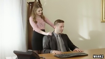 Sex-appeal body Alice March is having grimy love-making back with her kinky boss