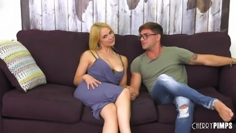 Naked Jason Morose leaves his wiener into Sarah Vandella's your mouth