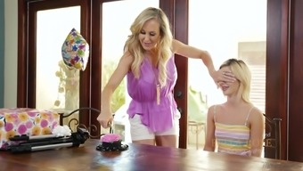 Brandi Absolutely adore is typically a grow older girl requiring Attractive bella Rose's cunt