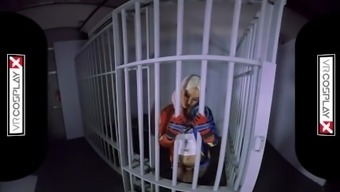 VR Cosplay Simply by Fuck Kleio Valentien As Harley Quinn VR Pornography