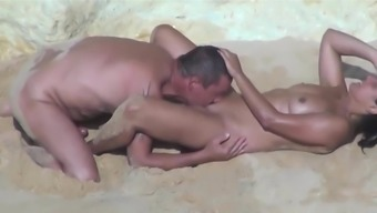 Playful Shore Couple.avi