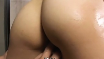 Subtitled uncensored popular JAV touching and sexual contact