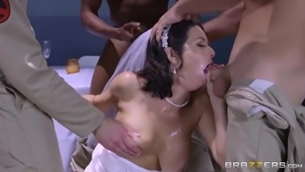the ghostbusters throat fucking the sexy bride paranormal veronica avluv