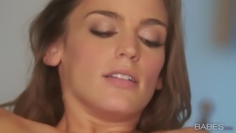 lesbian shyla jennings and ryan ryans employ chocolate syrup to get additional fun