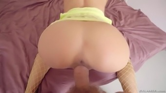 the spanish language intercourse idol alexa tomas gets fucked sternly