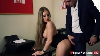 Alessandra Jane cannot fight a lover's large dick