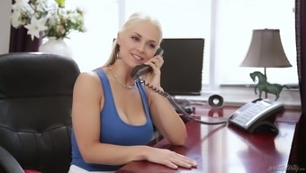 Bitch partner Sarah Vandella is betrayal with her boyfriend with one youthful employee