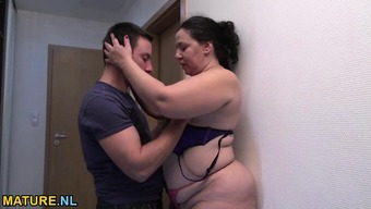 Bad fats and hot mature gets fucked hard through a little man