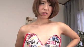 Charming Japanese youngster Seira Matsuoka acts with the restricted pussy in solo self pleasure restrict
