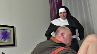 A language like german Grandma Nun get Fucked along with not papa in SexTape