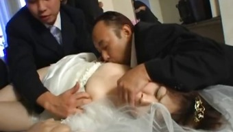 Asian future bride gets hardcore panel fucking part1