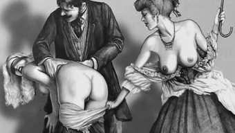 A woman Whipping Artwork Compilation 3