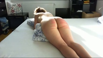 Twisted passive big bottomed wifey of my buddy got her bum spanked