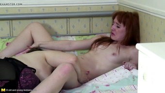 Banned intercourse in bed with the use of moms