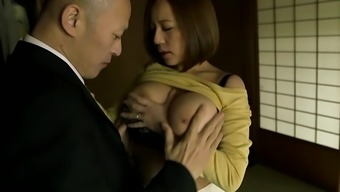 Japanese with large titties gets fucked seriously