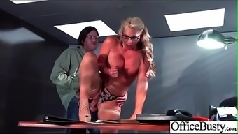 Workplace Sexual intercourse Act With the use of Sluty Attractive Large Titties Love (Phoenix Marie) clip-22