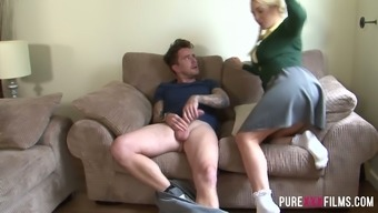 Slutty coed Victoria Summers craves a tough tilt inside her at all times