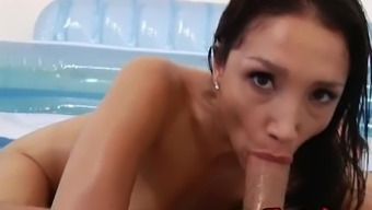 Asian Damsel Vicki Follow Gets Drilled in the Booty
