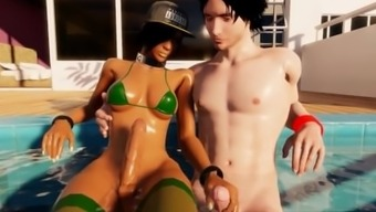 Hispanic Latina production Futa Krown Butt Rammed In New Grown-up Online dating Pc game!