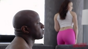 Issey miyake PRESTON Can take Dark colored COCK Over HER Booty