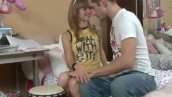 extremeteencams.com - Lovely Lean Young adult Fucks Blessed Man