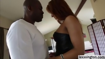 Curvy gal Sophia Fiore expertly has a greater phallus