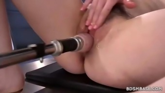 free19 machine fucking alone with the use of amarna miller