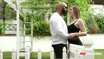 Enthralling light hottie Ella Nova normally takes fat black cock in their twat