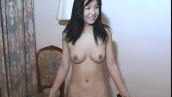 Hot Oriental Girl in comparison to Little Eastern Master Combatant