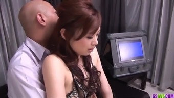 Keito Miyazawa loves law enforcement which work full-time dick in her own wooly crimson