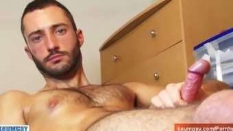 Nice load for a hunk french guy !