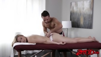 attractive alexa kindness wants some awesome thing from her masseur