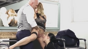 Jessica Drake and Katrina Lime are well designed babes needing a fat junk
