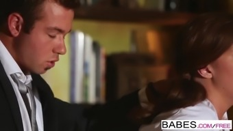 Babes - Office Passion - Chad White colored and Maddy OReilly - He