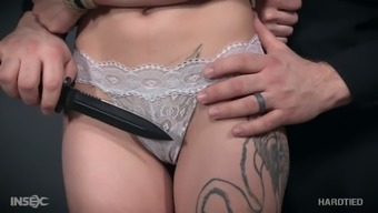 Tied up in piece of string coat slutty Luna Gorgeous must practical experience during BDSM time period