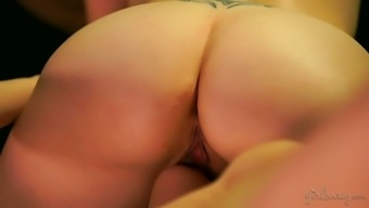 Several really steamy lesbian threesome by using gorgeous Dahlia Atmosphere is super warm