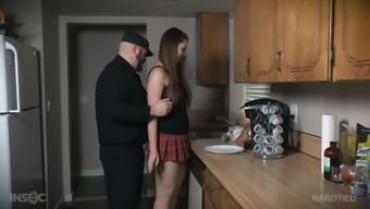 Bound amenable hoe Nora Ufirst gets her pussy masturbated complicated