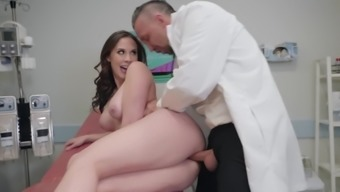 Gyno examination leads Bvlgari Preston to effectively fuck with the doc