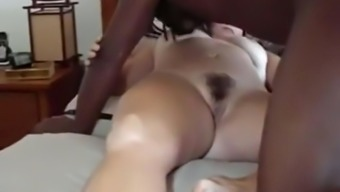 Surpassing guy fucks my cuckold wifey christian missionary and breeds her