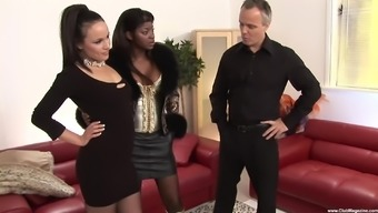 Ebony Jasmine Webb and Lucy Absolutely adore need a couple of cocks to obtain thrilled
