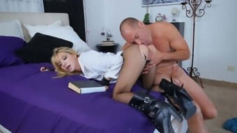 Premium beauty goes wild and naughty on a big one
