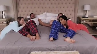 DaughterSwap - Daughters Suck These Dads Fat Cocks Because They Are Scared