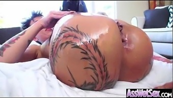 Anal Hardcore Sex With Big Curvy Oiled Butt Slut Girl (bella bellz) mov-07