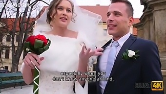 Bride Gives Into Big Dick And Cuckolds Hubby
