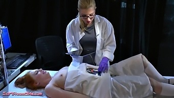 Sarah Strawberries & Ashley Fires in Ashley Fires Scifi Dreamgirls Episode: Rosie The Cheerbot Reprogrammed - KINK