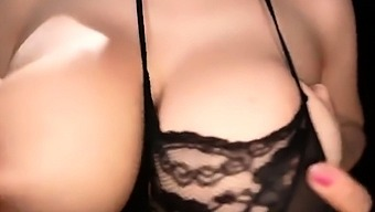 Mexicana blowjob with her big boobs