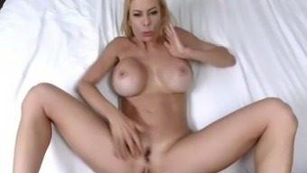 Sizzling MILF gets her mouth jam-packed with ejaculation - Alexis Fawx