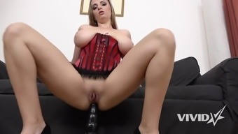 Vivid.com - Major Tit tramp Suzie gets rammed by the most desirable 16 foot moving truck