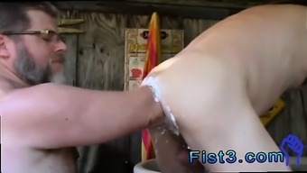 Youngster rectum fisted by old guys gay first timers Fisting Orgy and