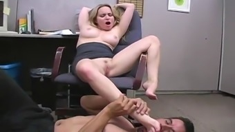 fetsh workplace exciting having the naughty black aiden starr